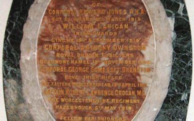 A Sad Fact about Baltinglass & the Great War