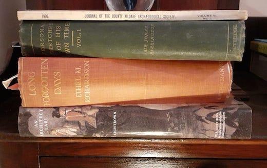 Stratford family history books