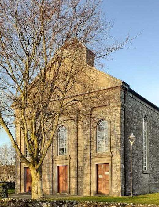 Talbotstown church in the sunshine