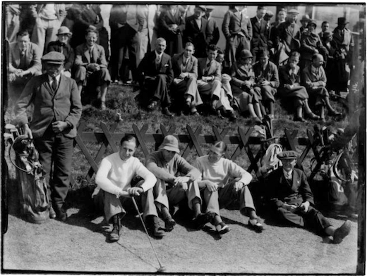 Crowd photo at the 1934 walker Cup
