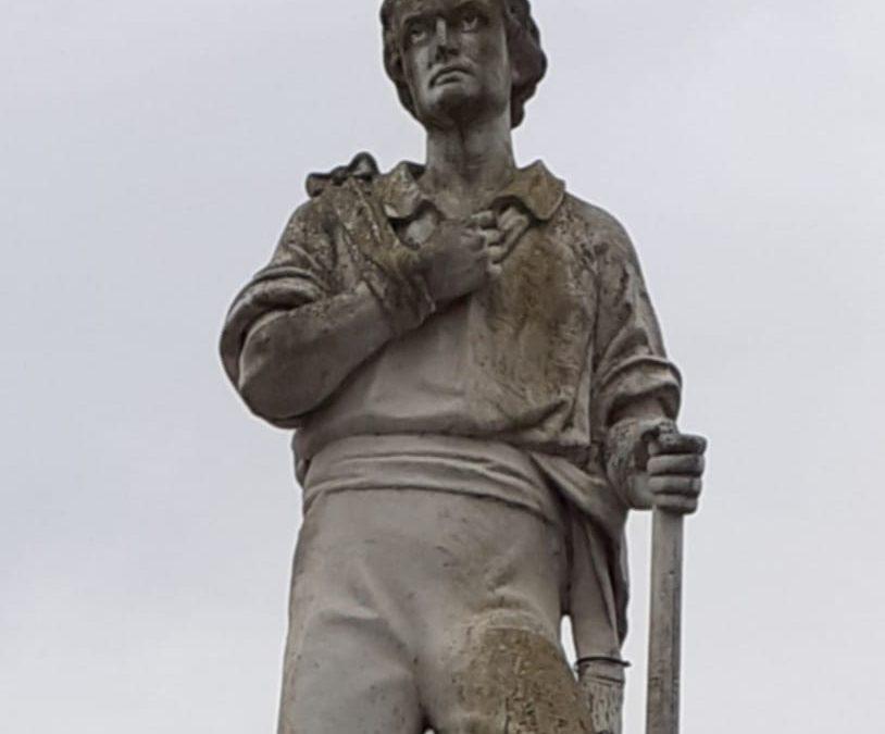 Sam McAllistar statue