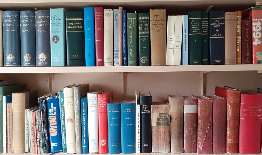 Genealogy library at home with Paul Gorry